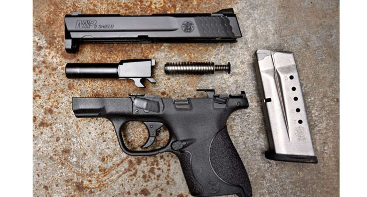 BEGINNERS: Basic Parts Of A Semi-Auto Handgun