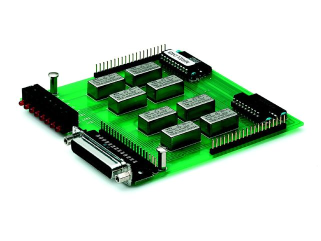 8 Channel Relay Module Janz Tec VMOD-REL available from AGS Industrial Computers http://www.agsindustrialcomputers.com