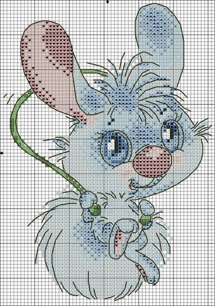 крестиком заяц 2