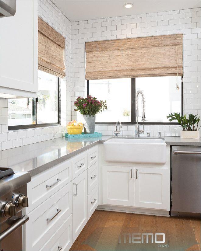 Mar 3, 2016 - Mochen sleek white kitchen with shaker style ...