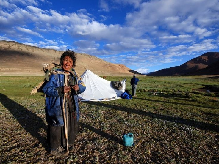 A changpa women, nomads of karzok in ladakh #ladakh tours may 2017 from #Malaysia #singapore www.kashmir-ladakh-tourism.com