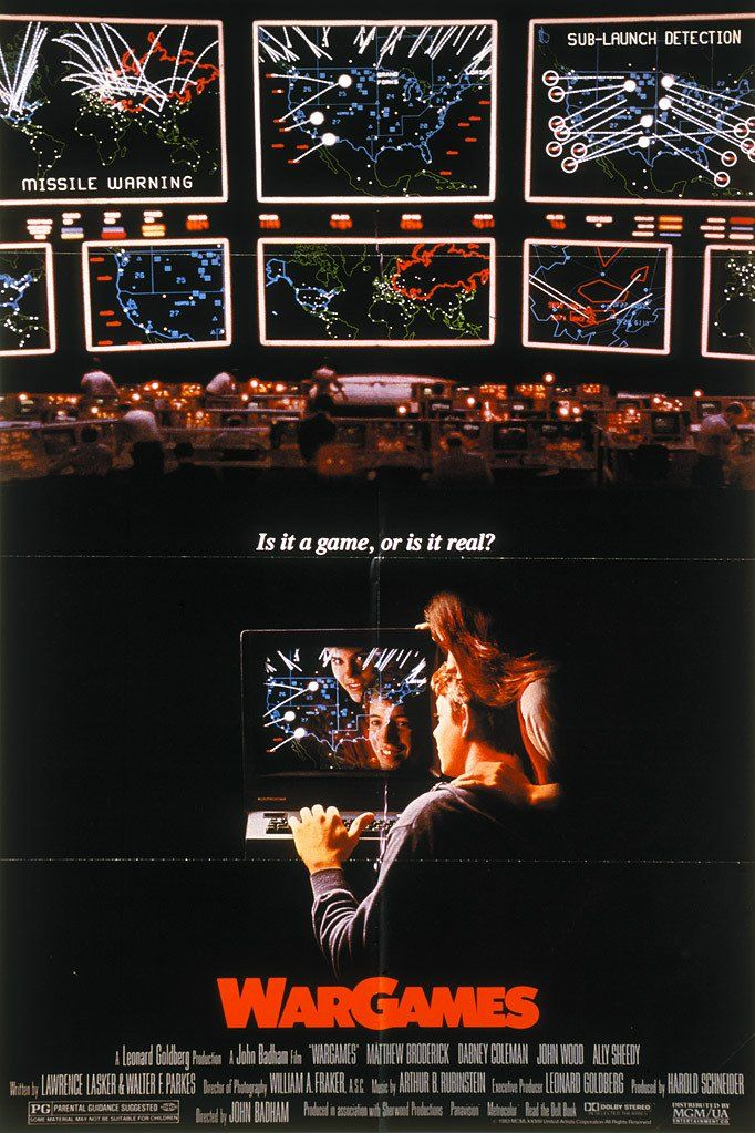 WarGames (1983) Matthew Broderick Juanin Clay Dabney ...
