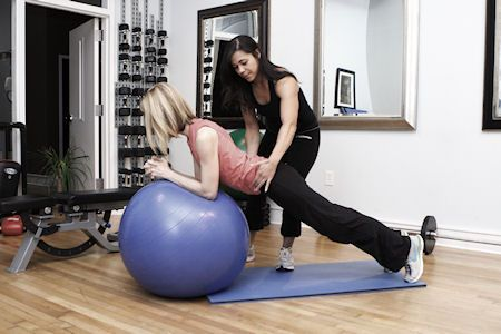 To learn enough to turn around and help others regain their health - maybe even be a personal trainer!
