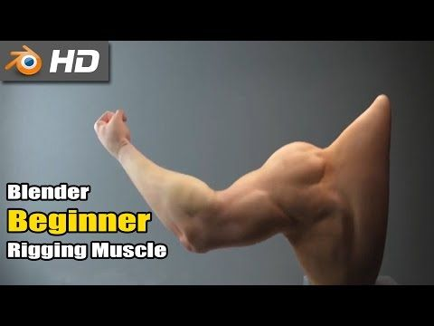 Muscle rig in Blender - YouTube