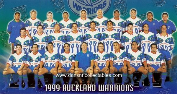 Auckland Warriors 1999. Names to be added. Top