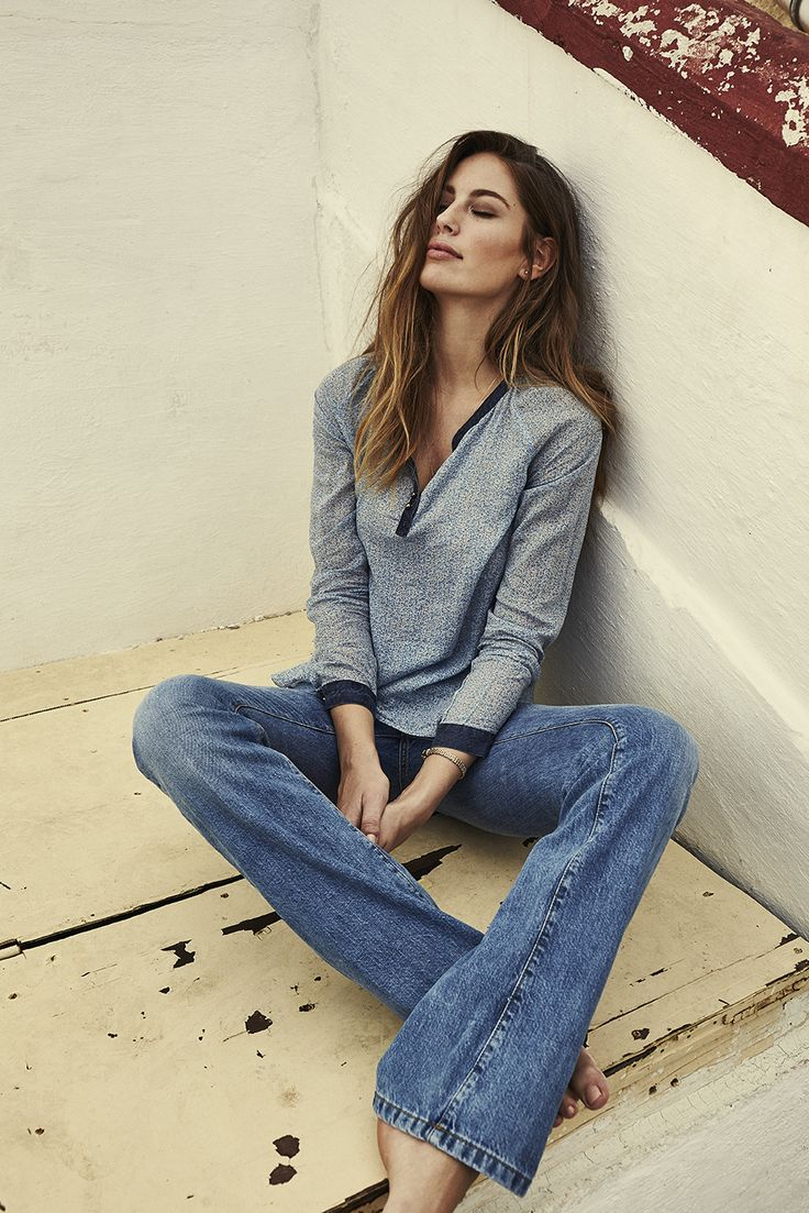 MOS MOSH // Soul Flower Blouse - Winslet Flare Jeans