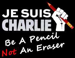 Be a pencil.  Carlie Hebdo