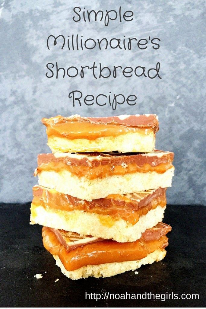 Simple Millionaire's Shortbread Recipe