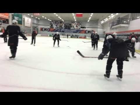 Flyers battle drill - YouTube