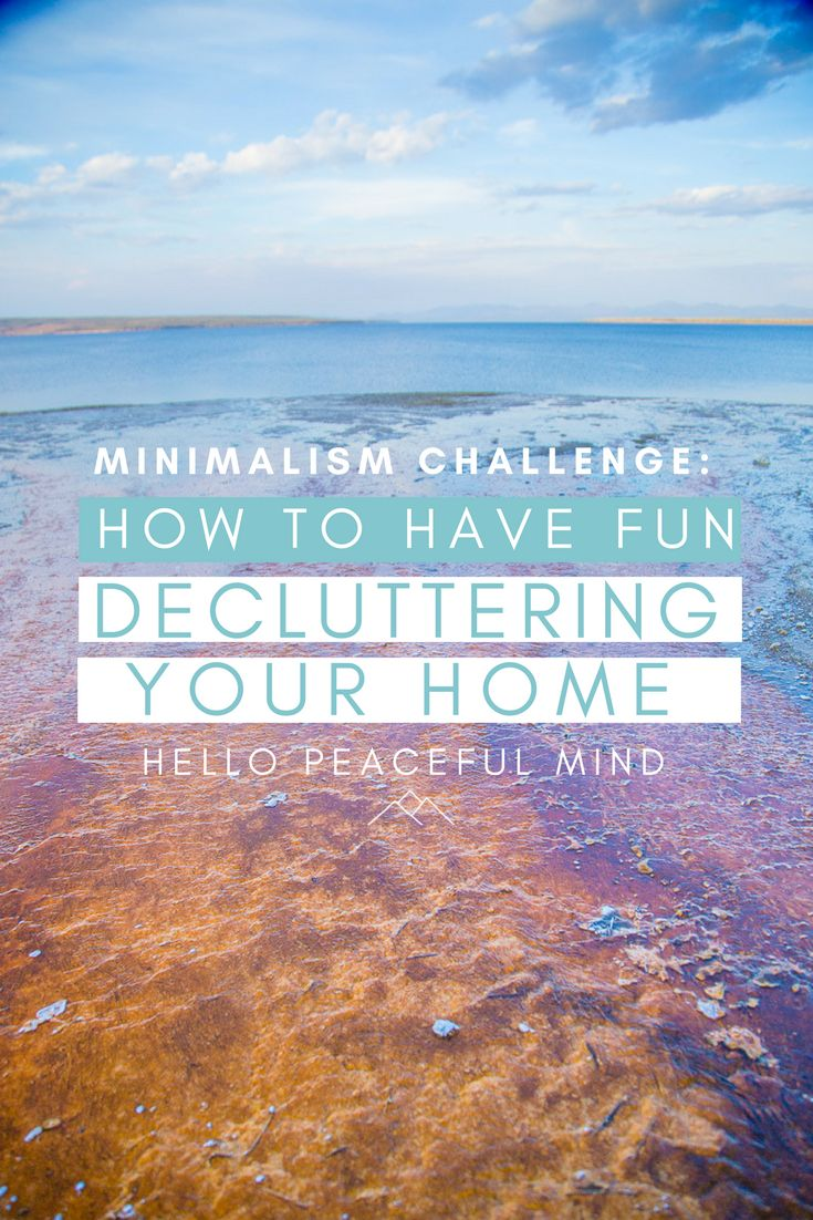 Stress less coloring by the shore - Do You Want To Declutter Your Home Join The Minimalism Challenge In February And Download