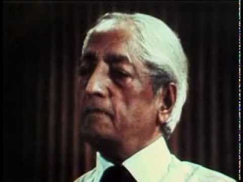 Krishnamurti - Acabar con todo el miedo - 1. ¿Cómo aprende uno sobre sí ...