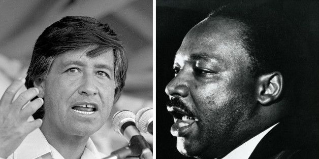 Cesar Chavez And Martin Luther King Jr.