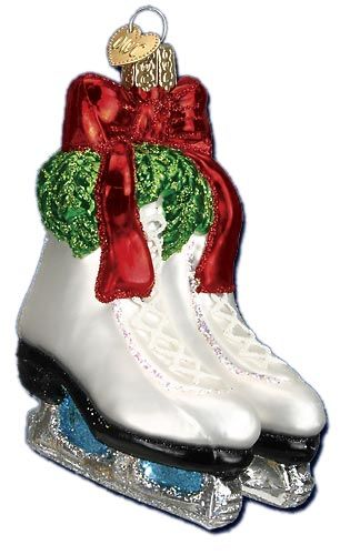 Holiday Skates Ornament | Old World Christmas Glass Ornaments