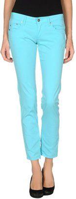ICE ICEBERG Casual pants - Shop for women's Pants - Turquoise Pants
