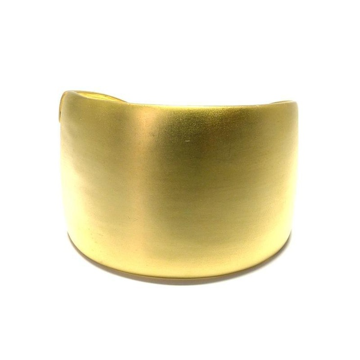 Kenneth Jay Lane Satin Cuff Bracelet at aquaruby.com