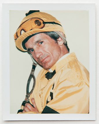 Willie Shoemaker (1931-2003): This legendary American jockey who was born too early and too small, and didn't grow much afterward, either, used his small size, strength and smarts to win 11 Triple Crown horse races and earn more than $123 million in prize money. It's said his grandmother put him in a shoebox next to an oven to keep him alive the night he was born. This is a Polaroid portrait by Andy Warhol.