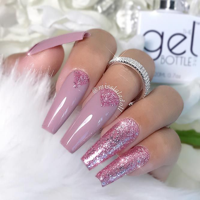 Special Happy Valentines Day Nails Ideas Not To Miss ★ See more: https://naildesignsjournal.com/happy-valentines-day-nails/ #nails