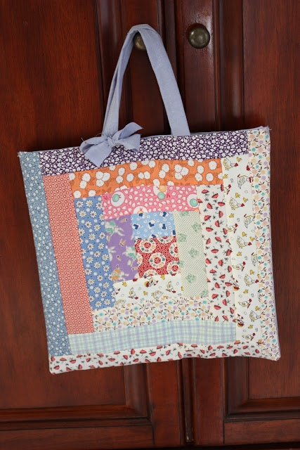 111 best easter sewing images on pinterest fabric dolls fabric we love this idea easter bags in place of baskets negle Images