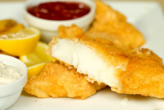 Beer Battered Cod.  Oh how I miss my Friday night fish fry's in Wisconsin !!!!!!!!!!!!!!