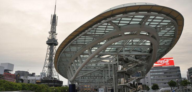 Oasis 21, la futurista estación de autobuses de Nagoya - http://www.absolutjapon.com/oasis-21-la-futurista-estacion-de-autobuses-de-nagoya/