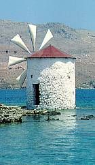Windmill in Leros