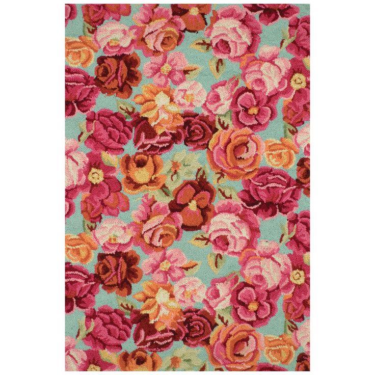 Excellent Rose Floral Rug Amp Vw47 Advancedmassagebysara
