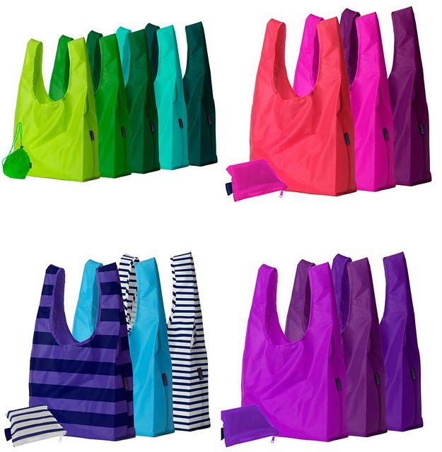 Some type of large, cute, reusable bag for day trips to the big market!