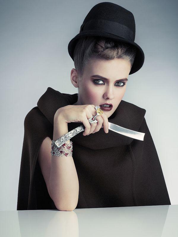 Diamond in the Rough (Harper's Bazaar SG Oct 13) on Fashion Served