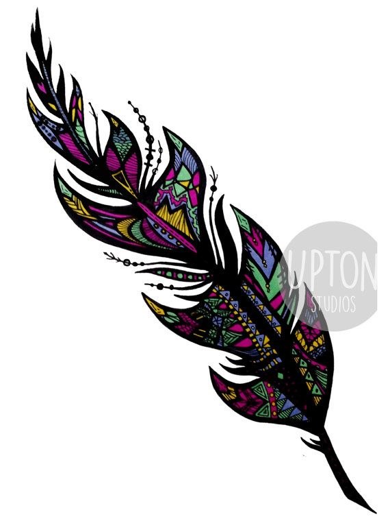 17 best ideas about tribal feather tattoos on pinterest