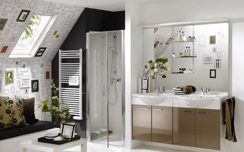 lovely size, shape and colors.Small Bathroom Design, Modern Bathroom Design, Bathroom Vanities, Home Interiors Design, White Bathroom, Bathroom Ideas, Contemporary Bathroom, Modern Design, Design Bathroom