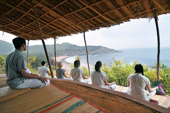 The #rewilding experience. Away from the #world and its  noise, you'll find #yourself.  http://bit.ly/29bUIz8  #CGHEarth #EarthExperiences #Gokarna #Karnataka #India #SouthIndia #Travel #Discover  #Yoga #Meditate #InnerJourney #Away