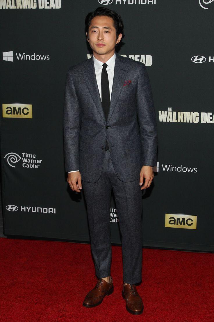 The Walking Dead Season 4 Premiere - Steven Yeun