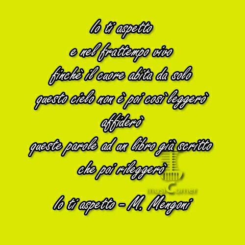 Io ti aspetto - Marco Mengoni