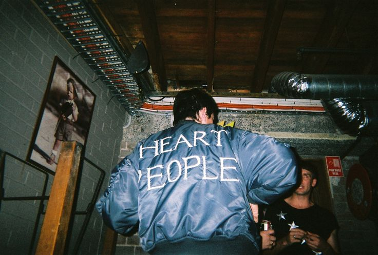 Heart People Music, Sydney. 35mm film.