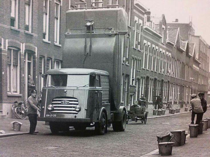 Van twist Diesel. . Vuilnis truck.
