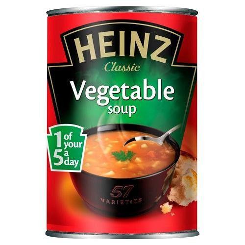 Heinz Vegetable Soup (24x14.1oz)