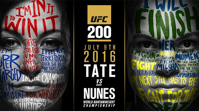 Watch UFC 200: Tate vs. Nunes 7/9/2016 9th July 2016 (9/7/2016) Full Show Online Free Watch UFC 200 Pay-per-view7/9/16 - 9th July 2016 Livestream and Full Show Watch Online (Livestream Links) *720p