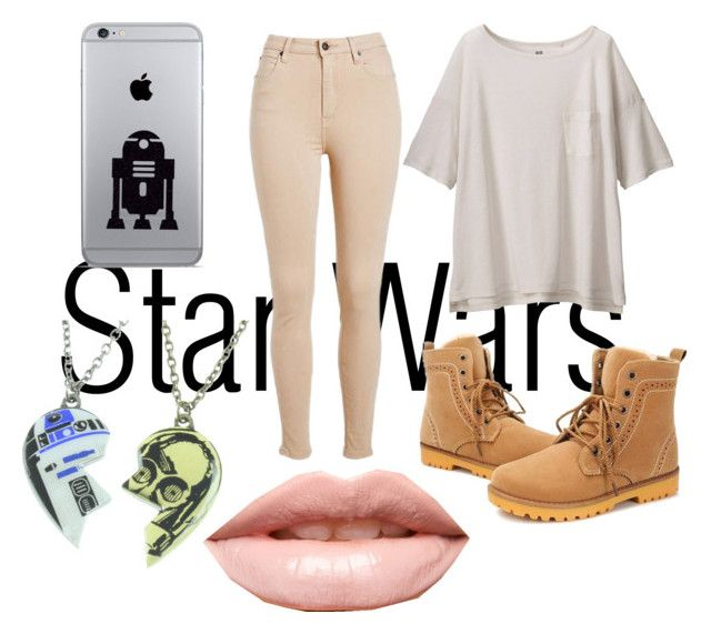 """""""The Force Awakens"""" by just-teriv on Polyvore featuring Uniqlo, R2 and LASplash"""