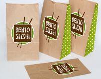 Bento SUSHI by Sarah Vanbegin, via Behance PD