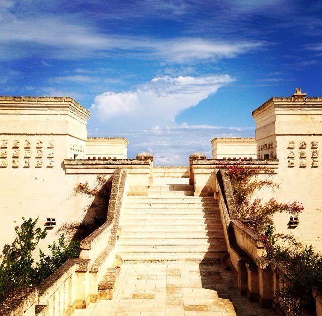 Stunning views at Borgo Egnazia, Apulia, Italy - that's luxury travel!