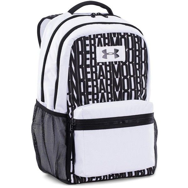 black and white under armour backpack cd9ad44a9f7dea270fc270a21a7c03da c4cd9b274e083