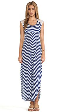 L*space Skyfall Stripe Dress In Navy WAS $135.00 NOW $81.85 http://richgurl.com/linkout/1350803
