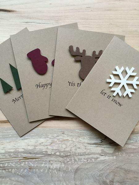Christmas Cards Handmade Design Ideas 77 Card Design Ideas