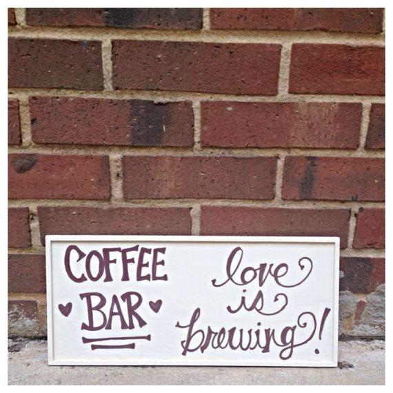 Coffee Bar Love - Coffee Bar statt Candy Bar! Der Geruch, der dann durch den Nachmittag schleicht .. mmmmh.