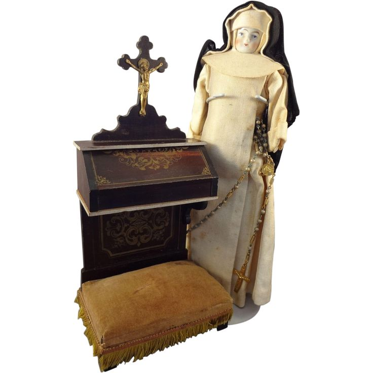 Miniature Prie-dieu Waltershausen in Large Doll House Scale