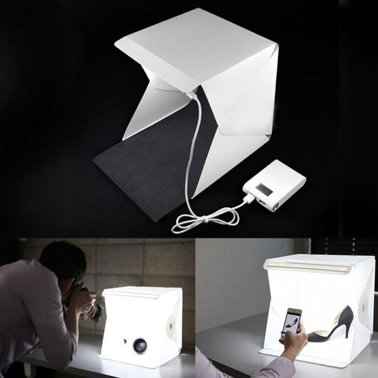 Photo Studio Lighting Box Photography Backdrop LED Mini Cube Tent Portable Light #UnbrandedGeneric