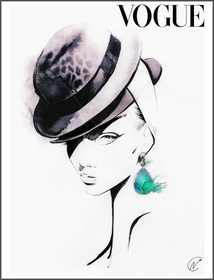 Nuno DaCosta is a black and white illustrator specialized in fashion illustrations