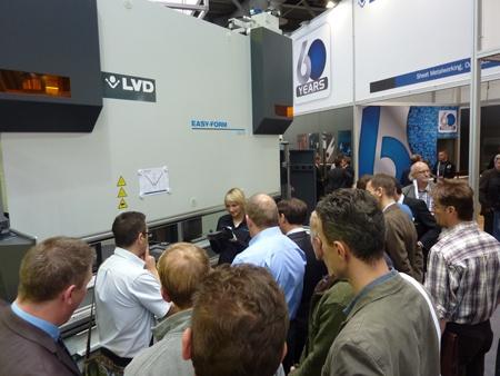 LVD stand at EuroBlech 2012