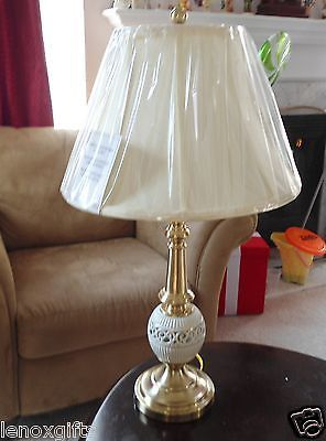 Lenox Quoizel Tracery Lamp 28 Quot H New In Box Marvelous