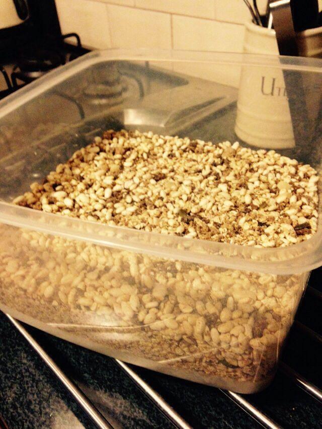 Homemade 'Joe's granola' - 90 daysss plan - The Body Coach ...